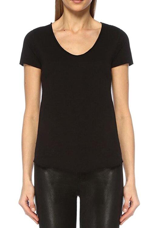 BASIC&CO Kadın Siyah T-Shirt URB001 2