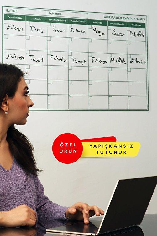 Evbuya Planlayıcı - Yapışkansız Tutunan Akıllı Kağıt ( + Silgili Kalem ) 1
