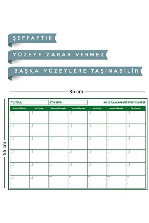 Evbuya Planlayıcı - Yapışkansız Tutunan Akıllı Kağıt ( + Silgili Kalem ) 2