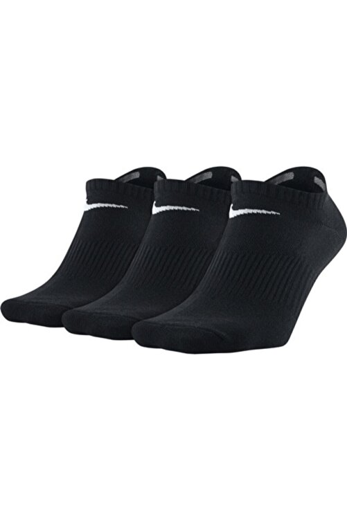 Nike Unisex Siyah Perf Lıghtweıght 3'lü Çorap Sx4705-001 1