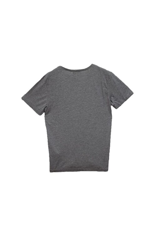 Phazz Brand Erkek Gri T-shirt 2