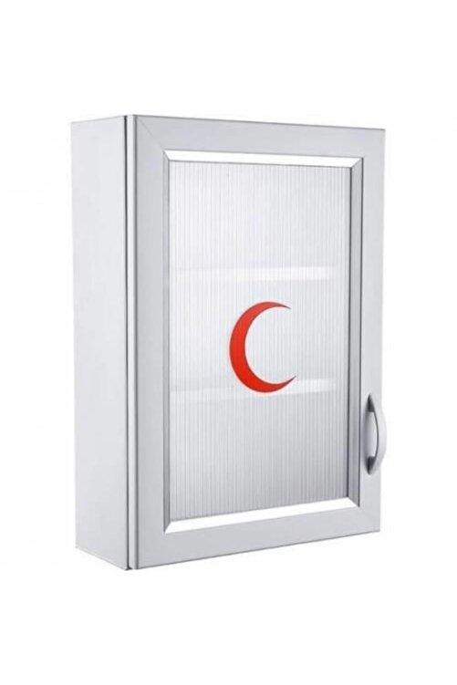 Çelik Ayna Ecza Dolabı Içi Dolu Ilk Yardım Içerikli Pvc 50x35x16 Cm 159 2
