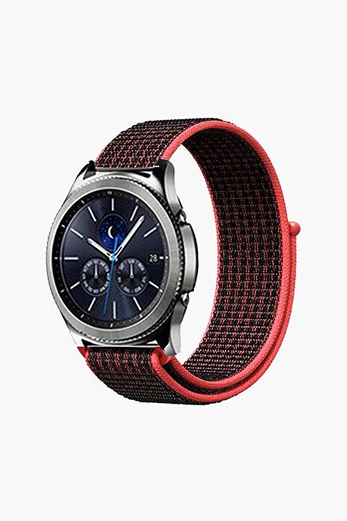 EKTAİS Samsung Gear S3 Frontier/classic - Gt/gt2 Spor - Samsung Galaxy Watch 3 45mm Dokuma Kordon Kayış 2