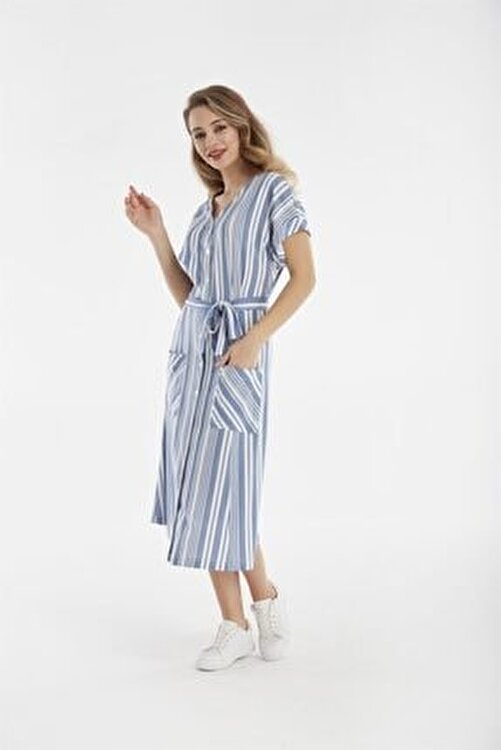 Relax Mode Kadın Modal Elbise 45544 1