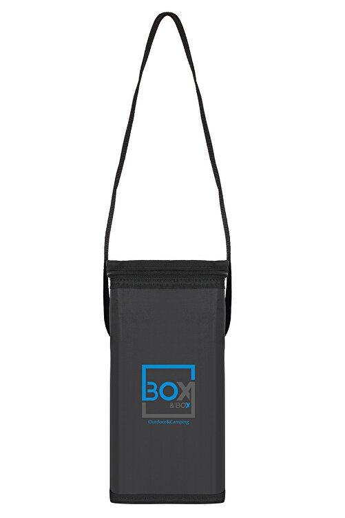 Box&Box 6 Lt Thermo Bag - Termal Korumalı (sıcak/soğuk) Siyah Seyahat, Kamp Ve Piknik Çantası 1