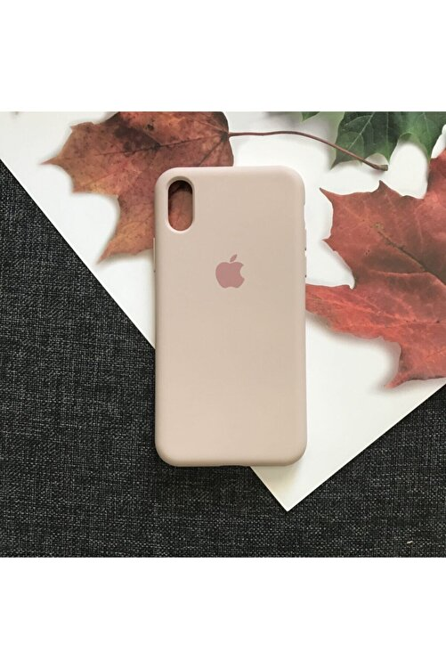 SUPPO Iphone X/xs Logolu Lansman Içi Kadife Silikon Kılıf 1