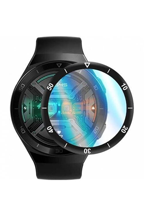 YGT Huawei Watch Gt2e 46mm Sport 5d Polymer Nano Tam Kaplayan Ekran Koruyucu 1