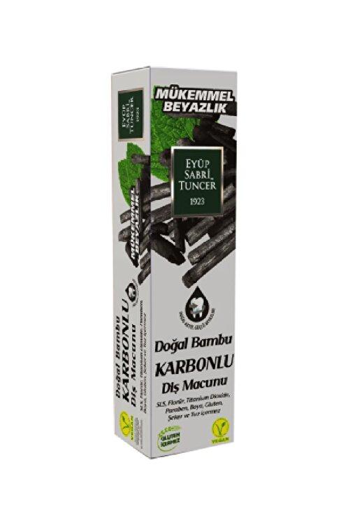 Eyüp Sabri Tuncer Diş Macunu Doğal Bambu Karbonlu 75 ml 1