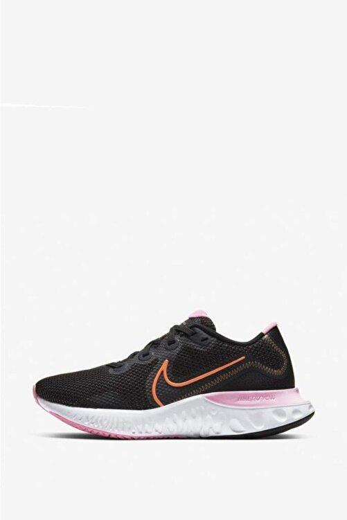 Nike Kadın Siyah Renew Running Spor Ayakkabı Ck6360-001 2