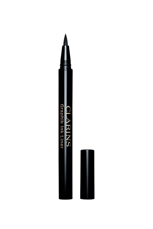 Clarins Suya Dayanıklı Siyah Eyeliner - Waterproof Liner 01 Black 3380810156690 1