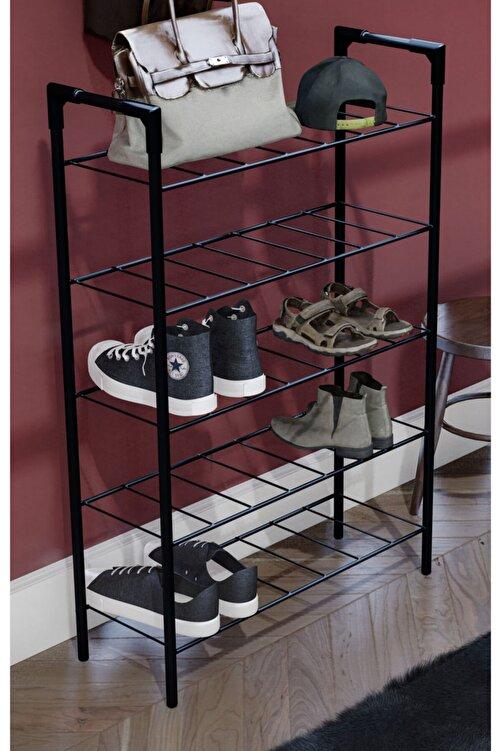 morpanda 5 Raflı Ayakkabılık Metal Ayakkabılık Düzenleyici Çok Amaçlı Dolap 1