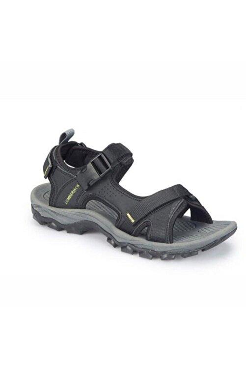 lumberjack Erkek Siyah Laggun Comfort Casual Outdoor Spor Sandaleti 1
