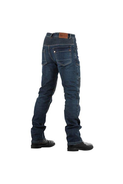 Tech90 Overlap Road Smalt Kevlar Jeans Motosiklet Pantolonu 2