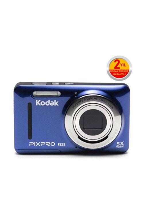 Kodak Pixpro FZ53 Mavi Dijital Fotoğraf Makinesi 1