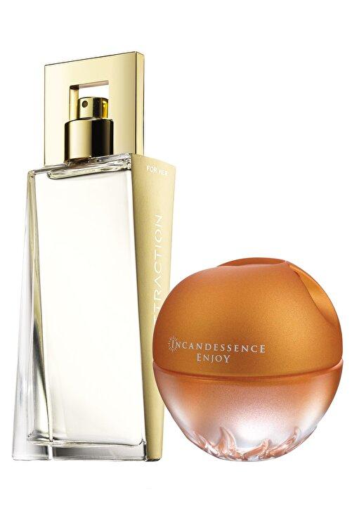 AVON Attraction Ve Incandessence Enjoy Kadın Parfüm Paketi 1