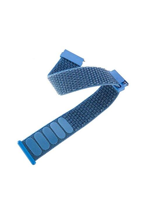 Magazabu Honor Watch Gs Pro Uyumlu Kordon Velcro Kumaş Saat Kordonu 22/lm10 2