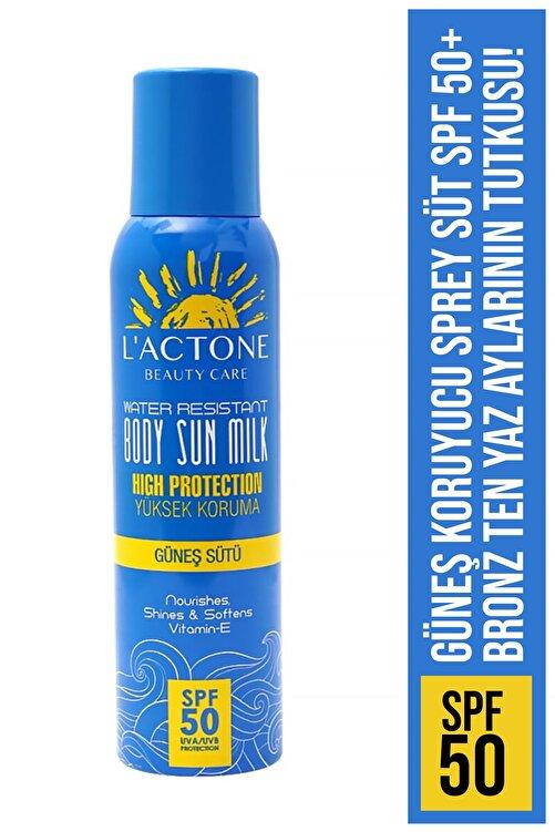 L'ACTONE Güneş Koruyucu Sprey Süt Spf 50+ 1