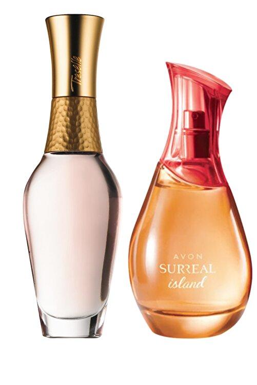 AVON Treselle Ve Surreal Island Kadın Parfüm Paketi 1