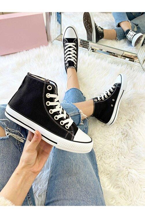 Ayakkabı Modası Siyah Kadın Ayakkabı M1003-19-110080R 2
