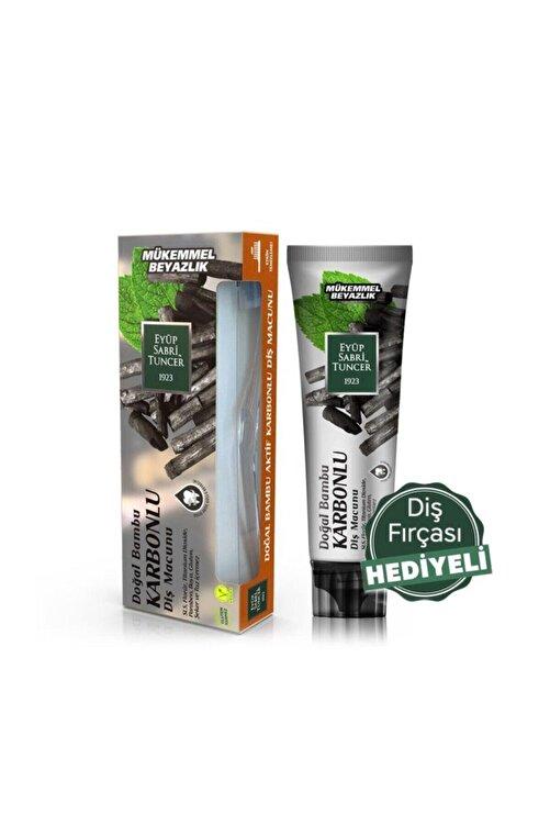 Eyüp Sabri Tuncer Doğal Bambu Aktif Karbonlu Diş Macunu 75 Ml 1