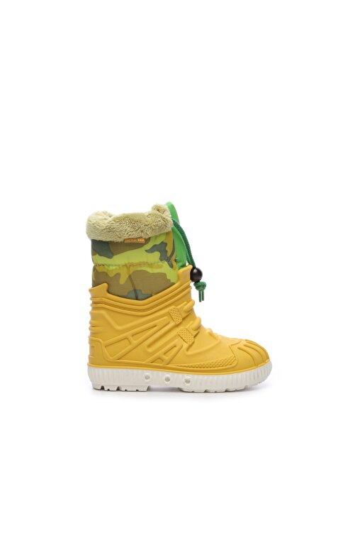 G&G Sarı Çocuk Pvc Yağmur Çizmesi Çizme 104 1602 UNI CZM 24-34 1