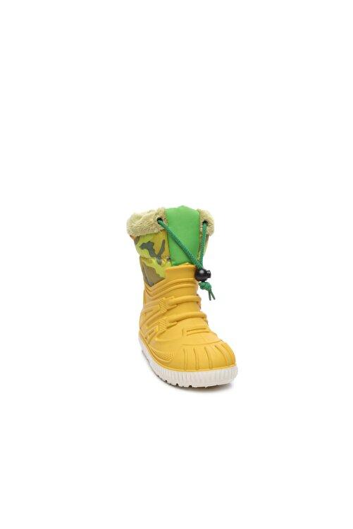 G&G Sarı Çocuk Pvc Yağmur Çizmesi Çizme 104 1602 UNI CZM 24-34 2