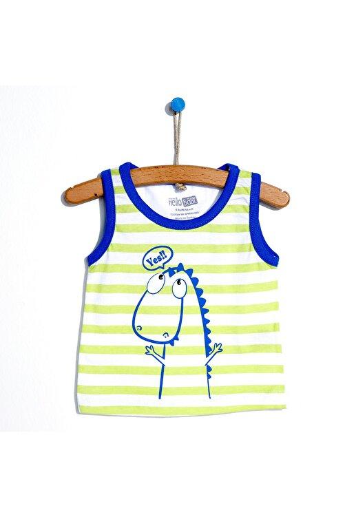 HelloBaby Basic Erkek Bebek Atlet Tshirt 1
