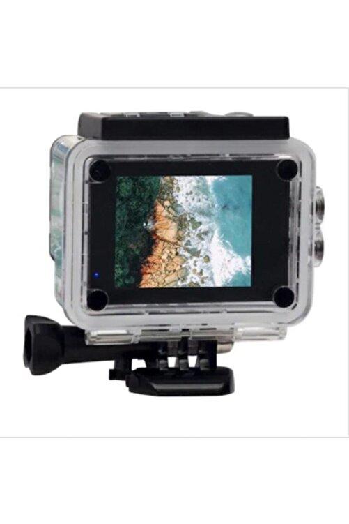 BLUE İNTER 1080p Hd Dijital Suya Dayanıklı Aksiyon Kamera 2