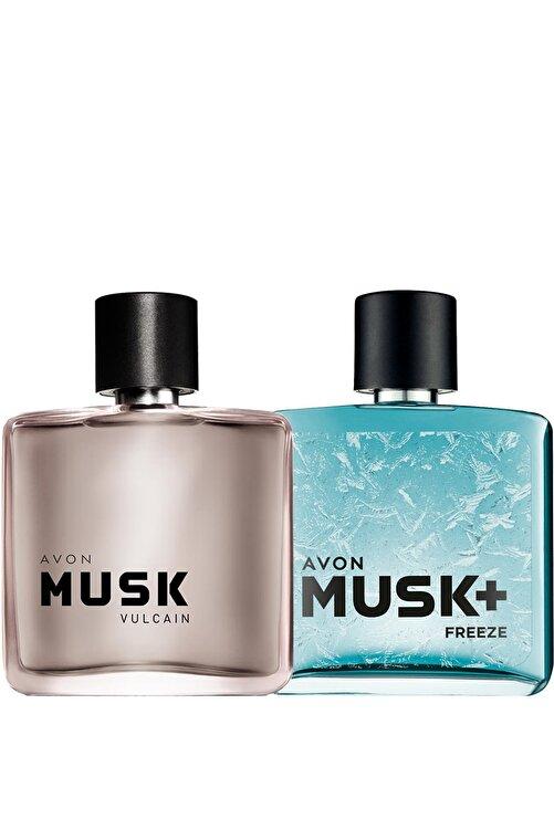 AVON Musk Vulcain Ve Musk Freeze Erkek Parfüm Paketi 1