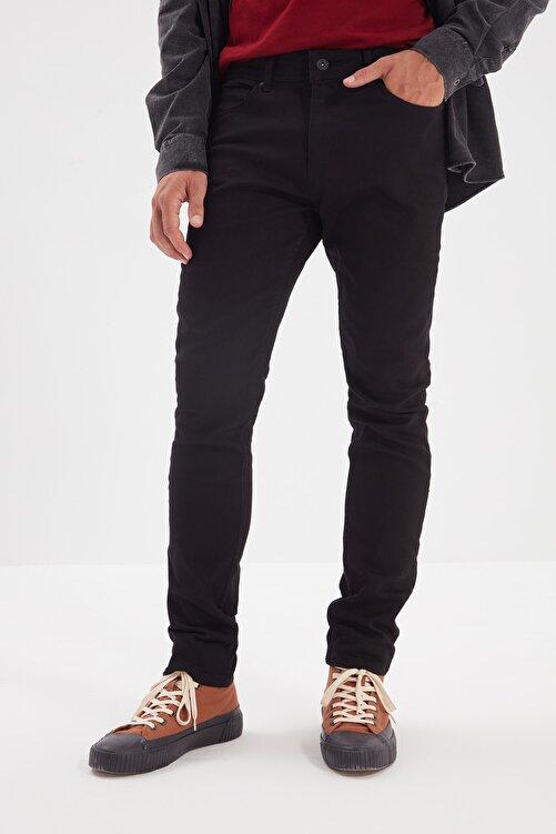 TRENDYOL MAN Siyah Erkek Skinny Solmayan Jeans TMNSS20JE0236 2