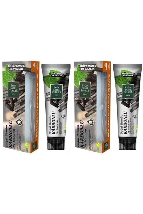 Eyüp Sabri Tuncer Doğal Bambu Karbonlu Diş Macunu 75 Ml X 2 Adet 1