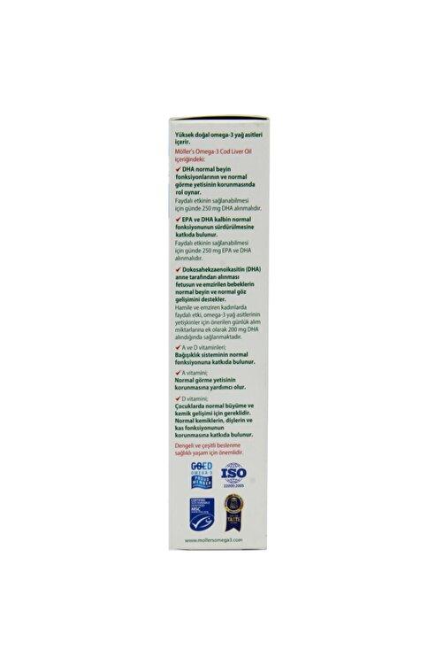 Möller's Omega 3 Limon Aromalı Balık Yağı Şurubu 250 ml 2
