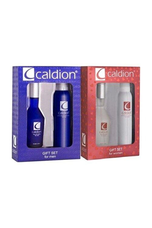Caldion Classic 100 ml Edt + 150 ml Deo Erkek & Kadın Set 1