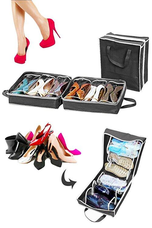 Helen's Home Ayakkabı Saklama ve Taşıma Hurcu Shoe Tote 1