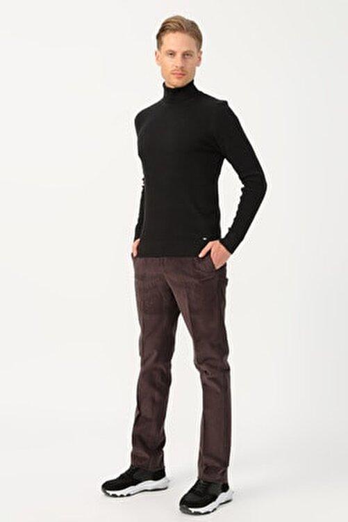 Cotton Bar Erkek Kahve Klasik Pantolon 503759680 1