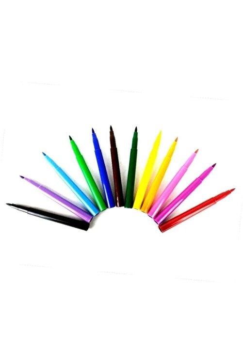 Südor 12 Renk Jumbo Keçeli Boya Kalemi 2
