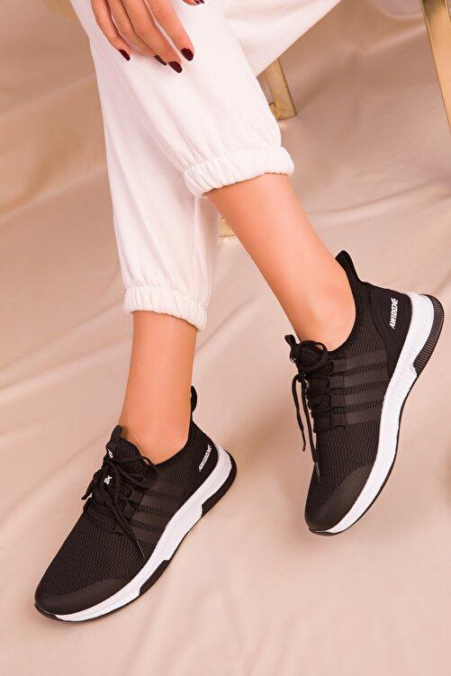 SOHO Kadın Siyah Sneaker 15195 1