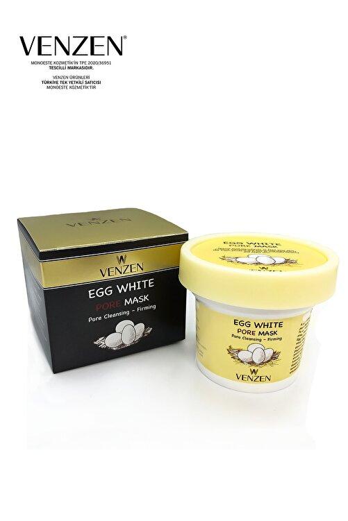 Venzen Egg White Pore Gözenek Maskesi (125g)-gözenek Temizleyici,sıkılaştırıcı Maske 2
