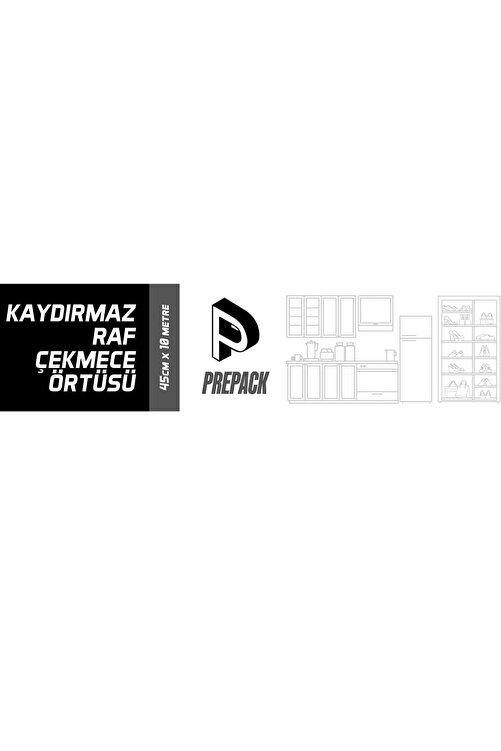 Packtech 45 cm x 10 Metre PrePack Kaymaz Dolap İçi Çekmece Raf Örtüsü Kaydırmaz 2