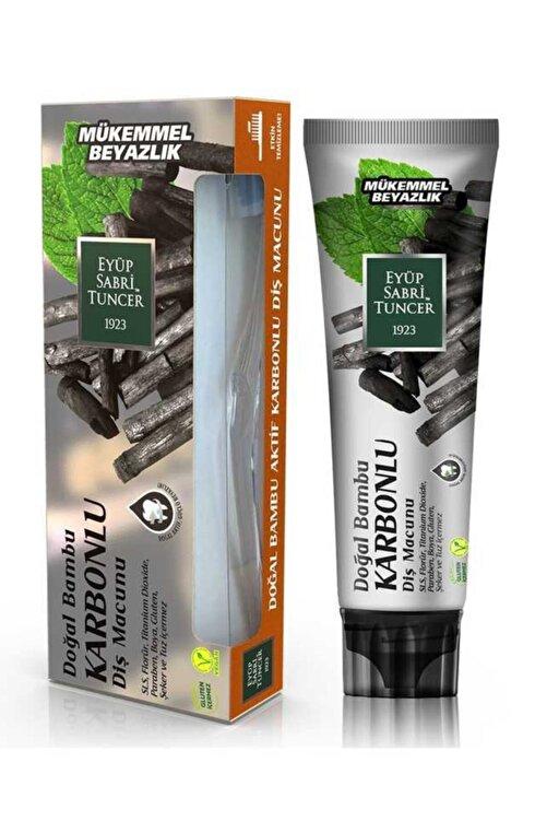 Eyüp Sabri Tuncer Doğal Bambu Karbonlu Diş Macunu 75 ml ve Diş Fırçası 1