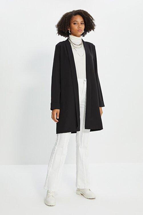 Trendyol Modest Siyah Ceket TCTSS21CE0420 2