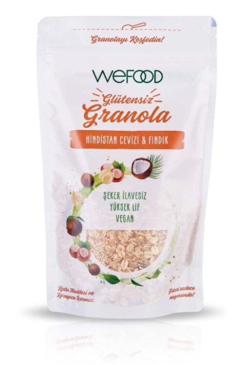 Wefood Glütensiz Granola Hindistan Cevizi & Fındık 250 gr 1