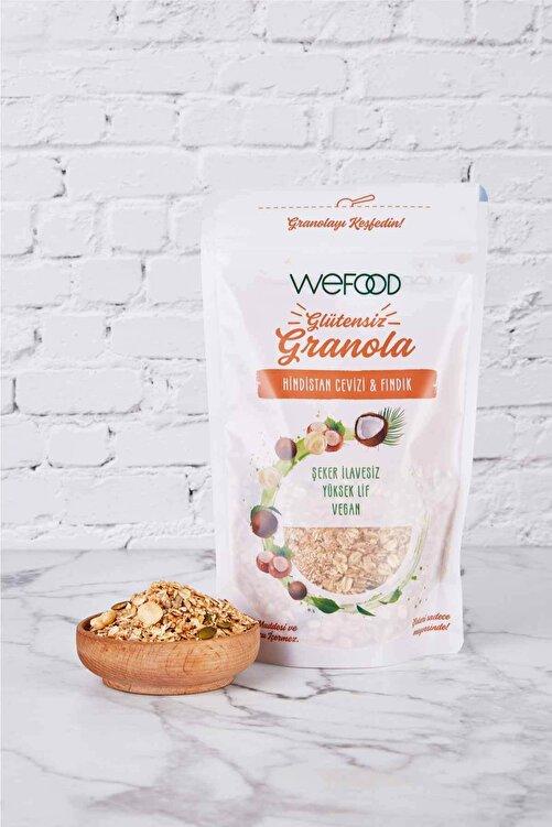 Wefood Glütensiz Granola Hindistan Cevizi & Fındık 250 gr 2