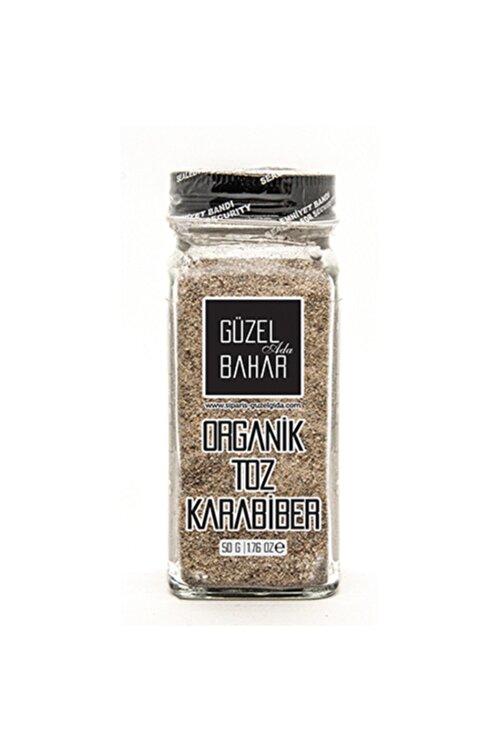 Güzel Gıda Organik Toz Karabiber 60 gr(Tuzluklu) 1