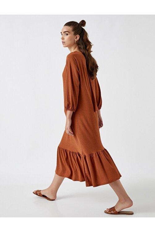 Koton Uzun Kol Elbise 1
