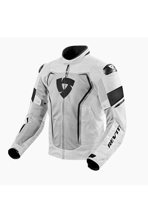 Revit Vertex Air Yazlık Fileli Motosiklet Ceketi Siyah Gri 1
