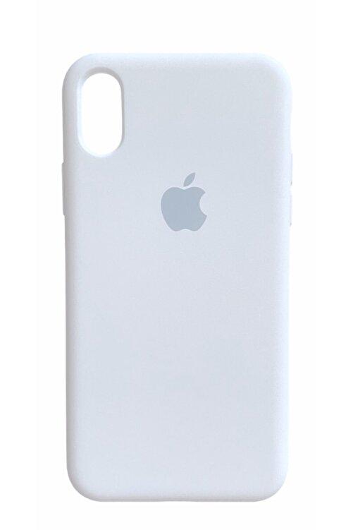 CAPIN Iphone X Xs Lansman Logolu Içi Kadife Renkli Silikon Kılıf X Kılıf 2