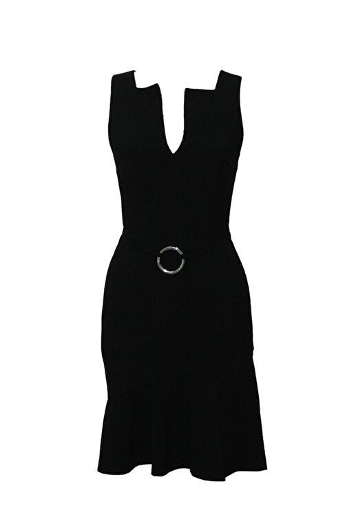 MERT ERKAN Scarlett Siyah Kısa Elbise 1