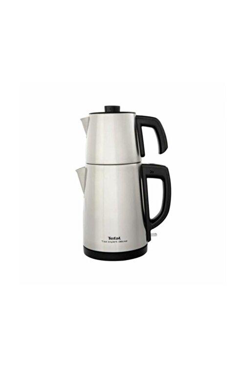 TEFAL Tea Expert Deluxe Inox Çelik Çay Makinesi, Xl Kapasite, Bj5098tr 1