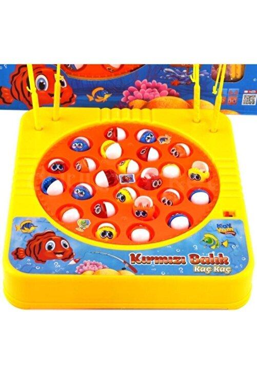 Kayyum Oyuncak Müzikli Balık Tutma Oyuncagı Kırmızı Balık 2